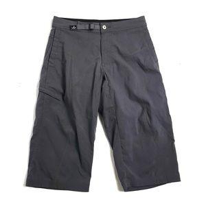 Prana pants gray crop medium hiking outdoors camp